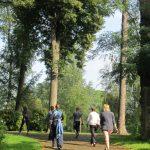 Kangatraining draußen im Park